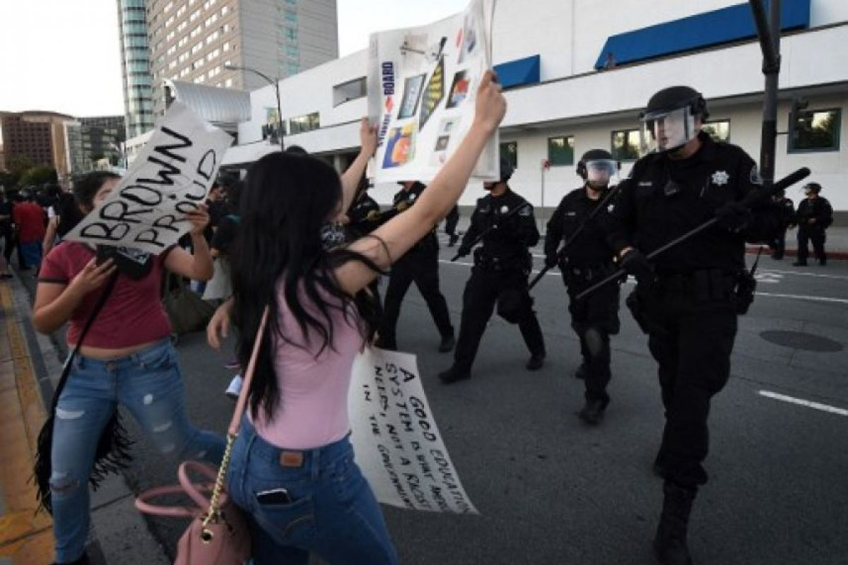 Algo que mucha gente a principio de su campaña no creía fuera posible. Foto:AFP. Imagen Por: