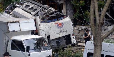 Al menos 11 muertos en Estambul en atentado contra vehículo de policía