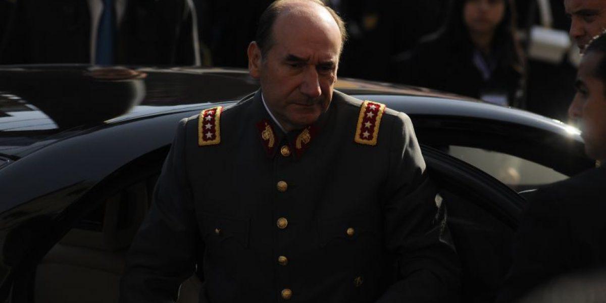 Ex comandante en jefe del Ejército declara por segunda vez en Fiscalía para explicar su patrimonio