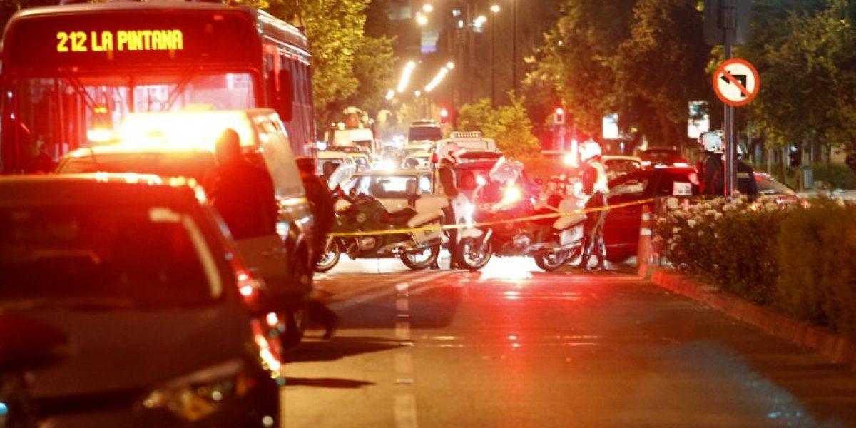Persecución frenó a banda que recorrió Santiago asaltando locales comerciales