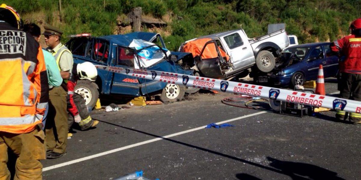 Más de mil menores han muerto en Chile durante la última década en accidentes de tránsito