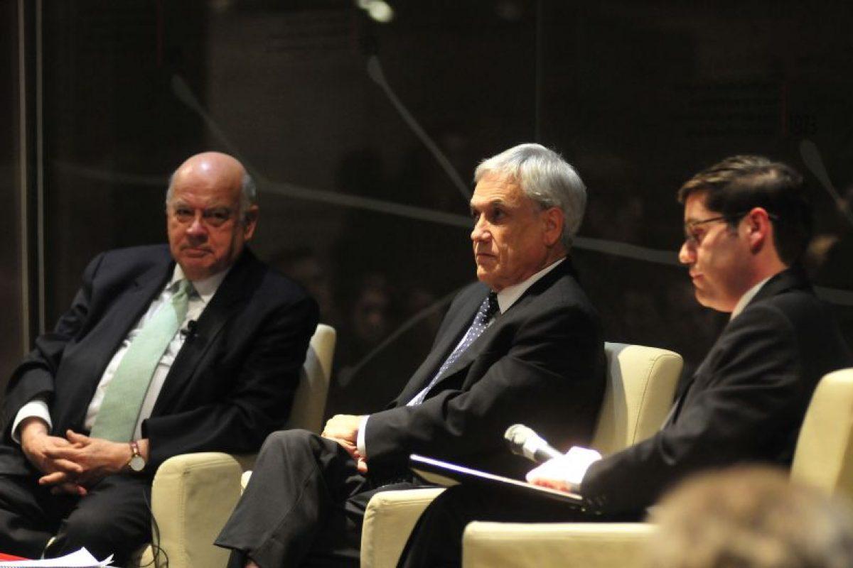 Los oradores de la jornada. Foto:Agencia Uno. Imagen Por: