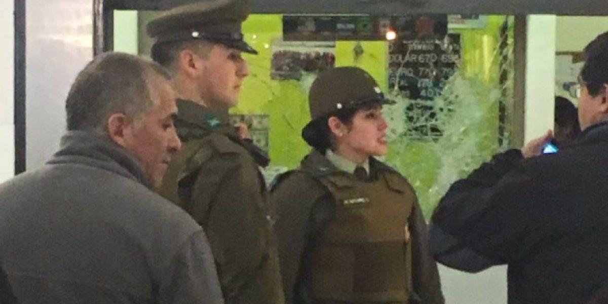 Delincuentes asaltan casa de cambio en interior de centro comercial en Maipú