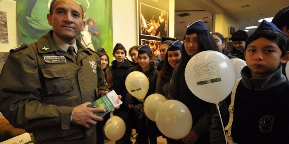 Carabineros celebró el día mundial del medio ambiente