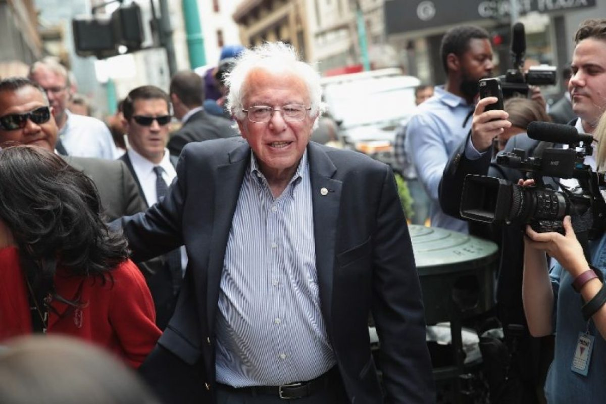 Bernie Sanders está a punto de resignar sus posibilidades en las primarias. Foto:AFP. Imagen Por:
