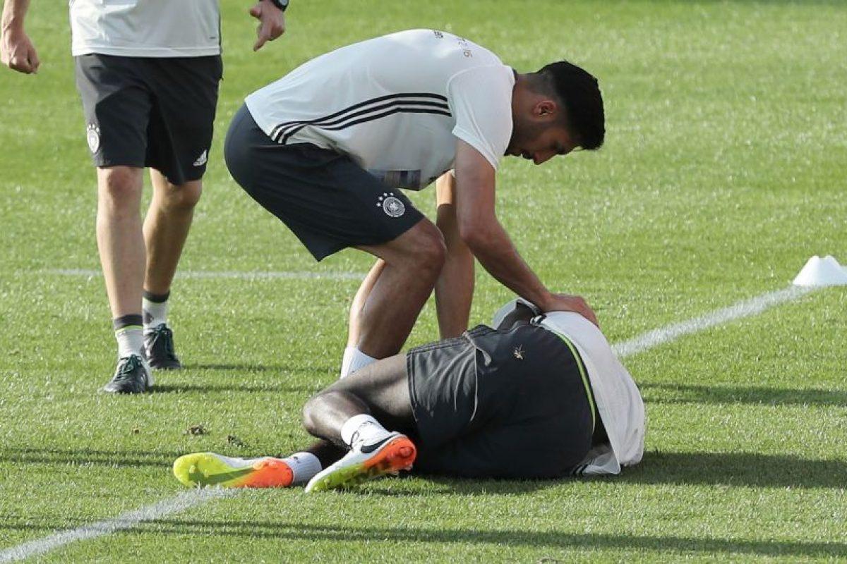 Antonio Rüdiger sufrió una lesión a los ligamentos y no viajó a Francia para la Eurocopa Foto:DPA. Imagen Por: