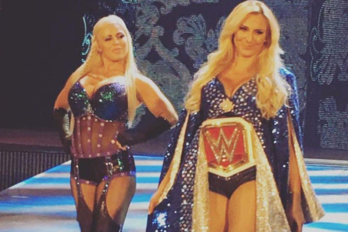 Y tiene polarizado al universo de WWE por su gran técnica, pero malas actitudes en el ring Foto:Vía instagram.com/charlottewwe. Imagen Por: