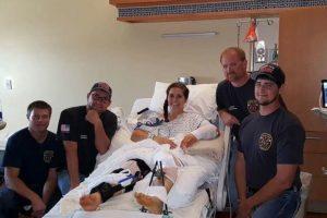 Así se ven luego del accidente. Foto:vía Facebook. Imagen Por: