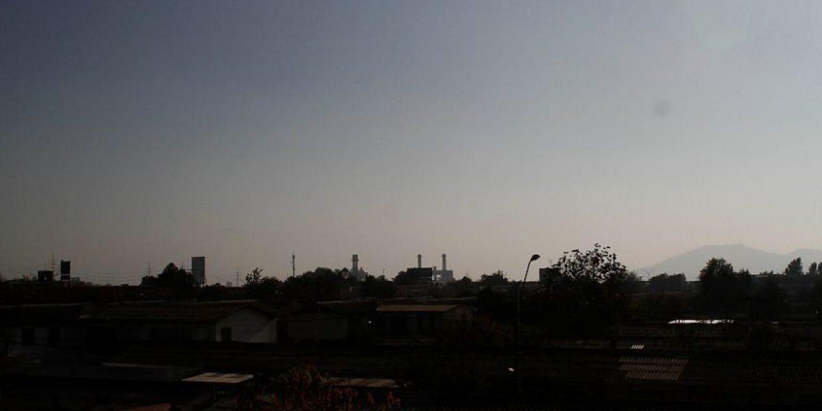 Empeora calidad del aire: estaciones de monitoreo en El Bosque y Cerro Navia llegan a nivel regular