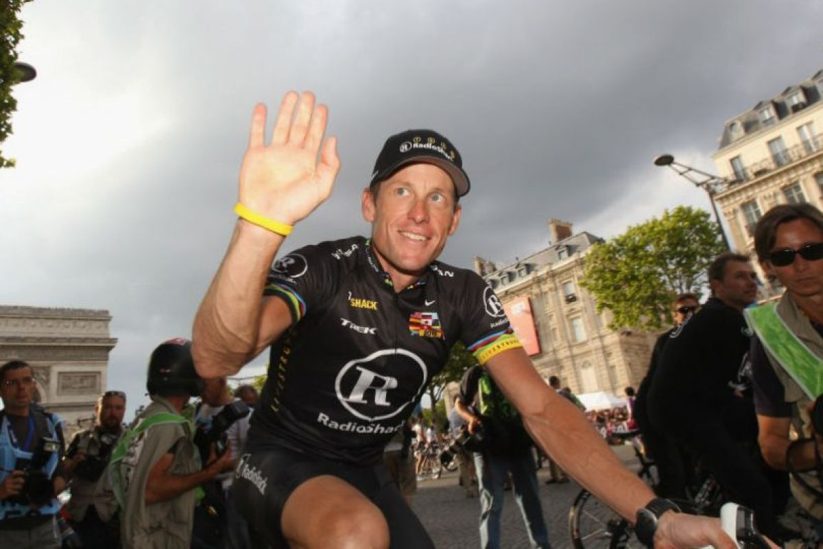 Lance Armstrong Foto:Getty Images. Imagen Por: