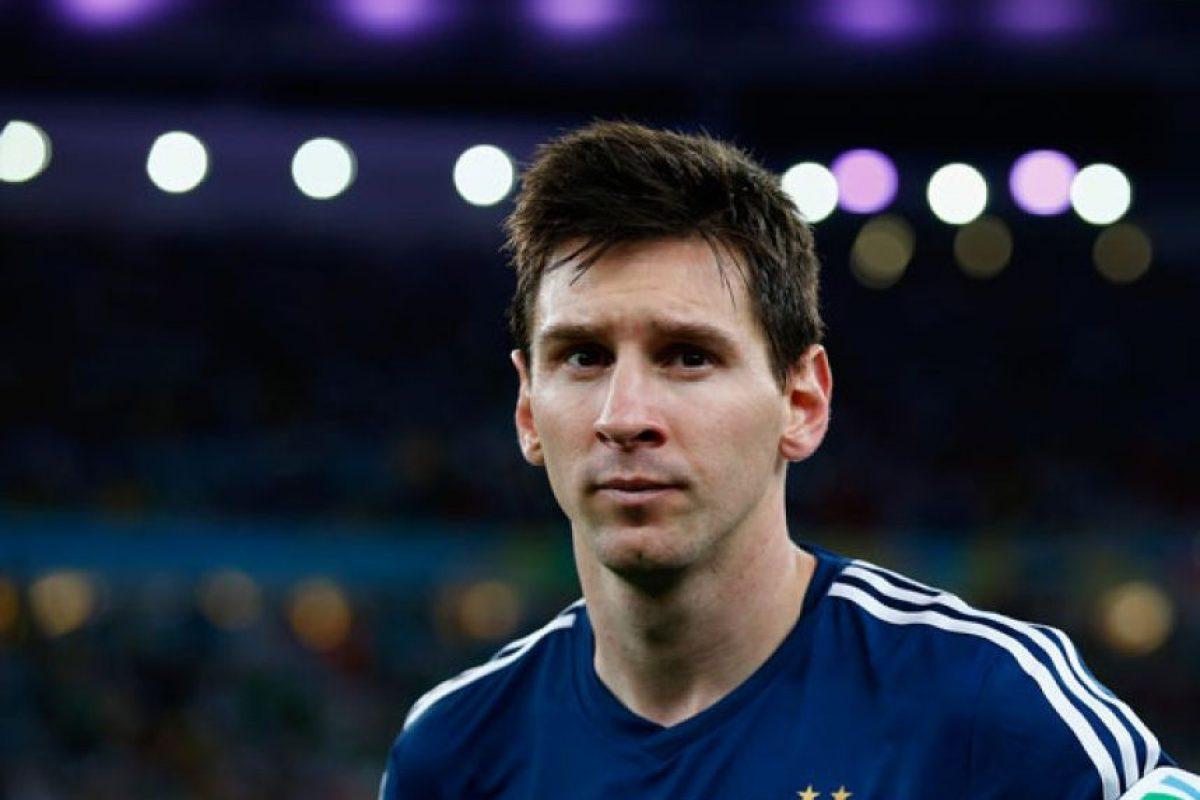 """Así que los argentinos prefirieron no arriesgar a la """"Pulga"""". Foto:Getty Images. Imagen Por:"""