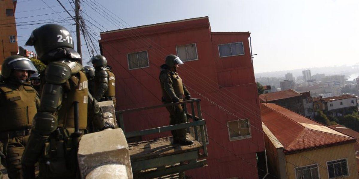 Carabineros detuvo a más de 1.500 personas en masivo operativo nacional
