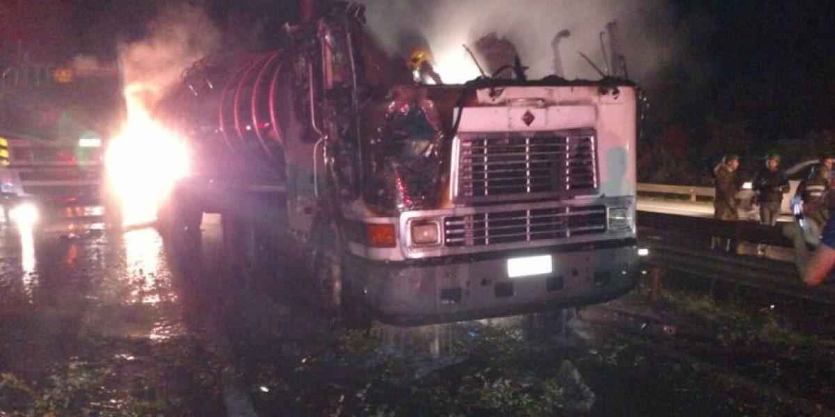 Triple ataque incendiario afectó esta noche a la región de La Araucanía