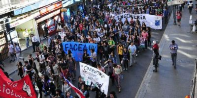 Este es el recorrido de la marcha estudiantil convocada para este jueves por la Alameda
