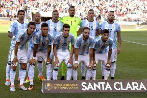 Argentina venció 2-1 a Chile en la jornada 1 de la Copa América Centenario Foto:Getty Images. Imagen Por: