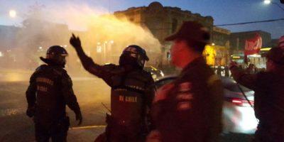 Protesta de pobladores paralizó el tránsito por la Alameda