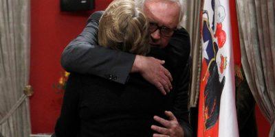 La emotiva despedida de Bachelet a Burgos: