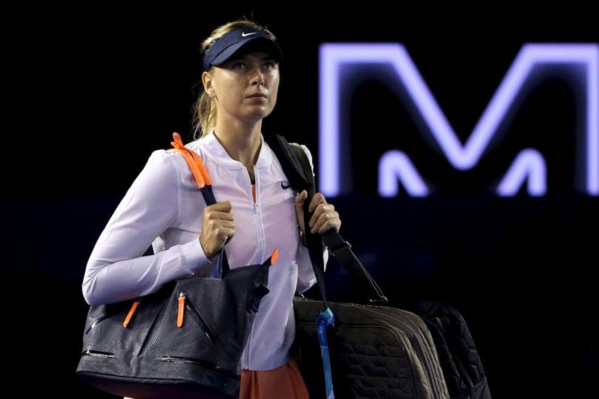 Maria Sharapova confesó que dio positivo en el Abierto de Australia Foto:Getty Images. Imagen Por: