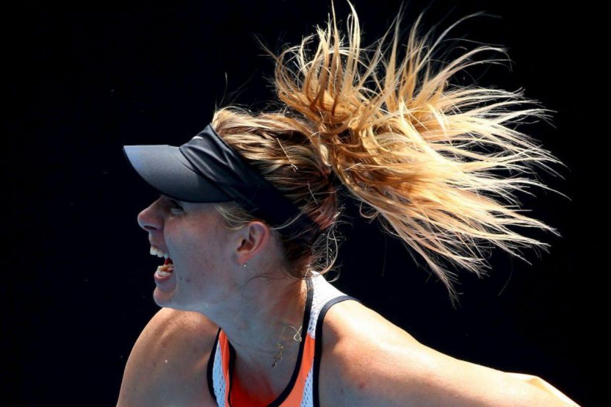 La tenista anunció en marzo que había dado positivo por meldonium, un medicamento que estaba utilizando para tratar distintas problemas de salud Foto:Getty Images. Imagen Por:
