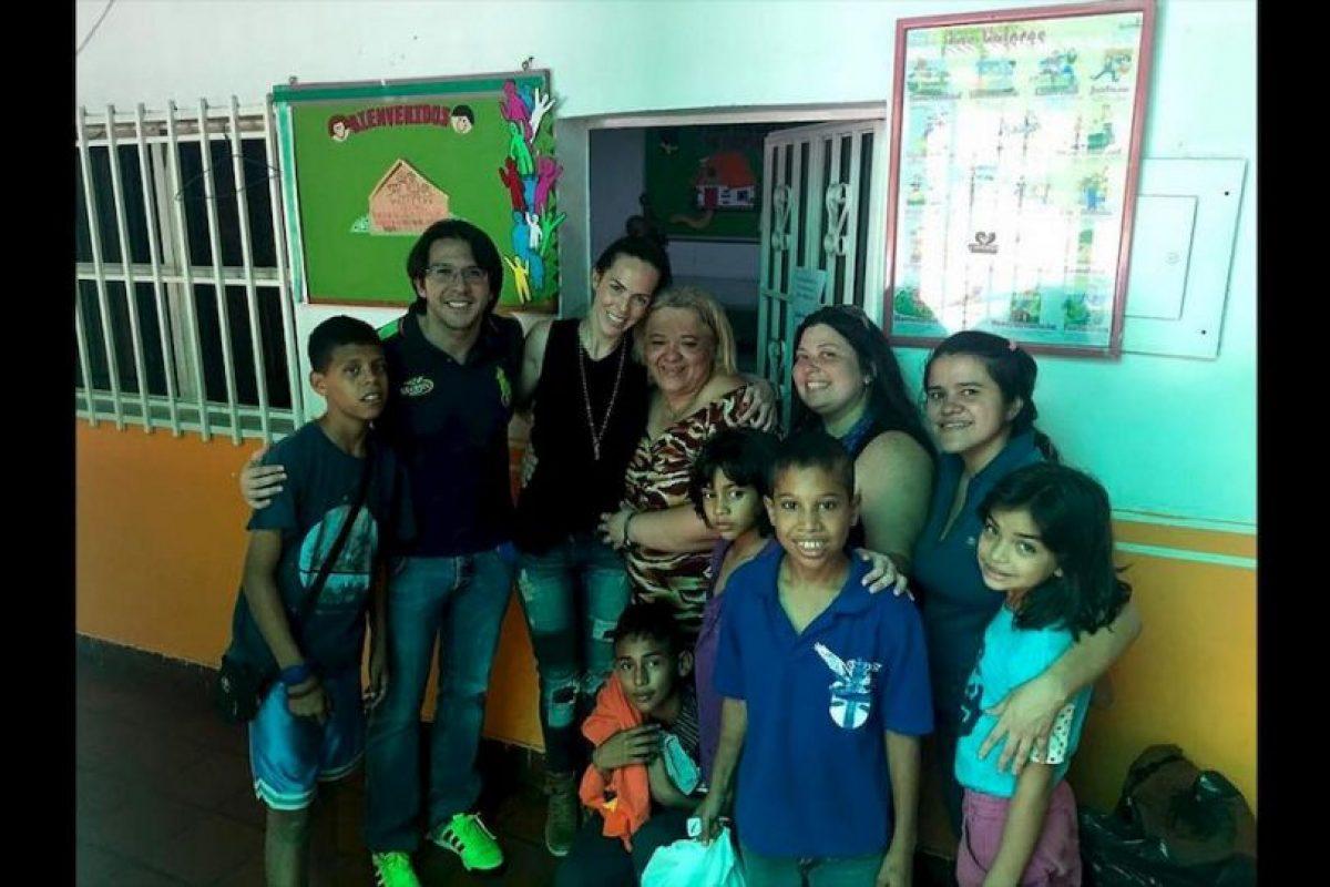 """""""En Venezuela cuesta mucho conseguir fórmula, y los hospitales ya no cuentan con los insumos necesarios para alimentar a los niños"""" Foto:comparteporunavida.com. Imagen Por:"""