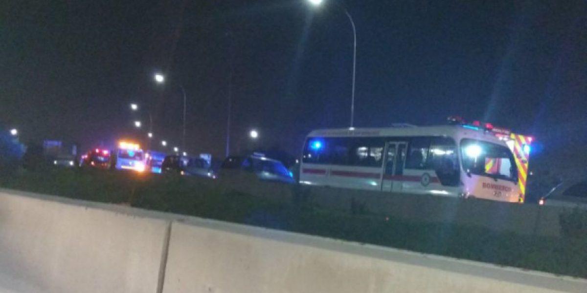 Accidente de bus interprovincial deja dos personas fallecidas y más de veinte heridos