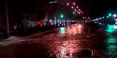 Aguas Andinas: se responderá a los vecinos afectados por rotura de matriz