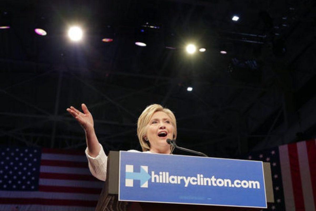 Ahora su principal rival es Bernie Sanders. Foto:AP. Imagen Por: