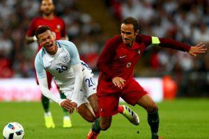 El defensor de 38 años va por su tercera Eurocopa, luego de jugar la del 2004 y 2008, y espera ayudar a Cristiano Ronaldo para que Portugal obtenga su primer título Foto:Getty Images. Imagen Por: