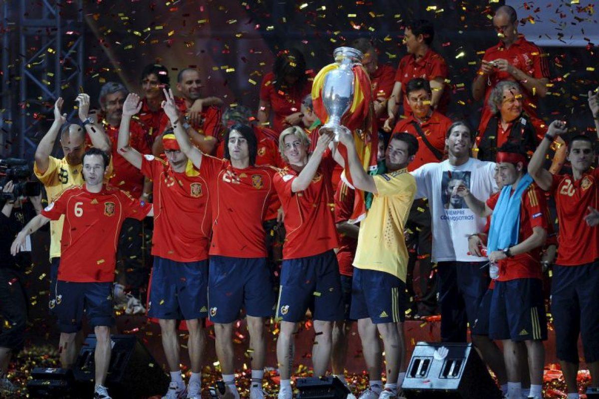 España, campeón de la Euro 2008 Foto:Getty Images. Imagen Por: