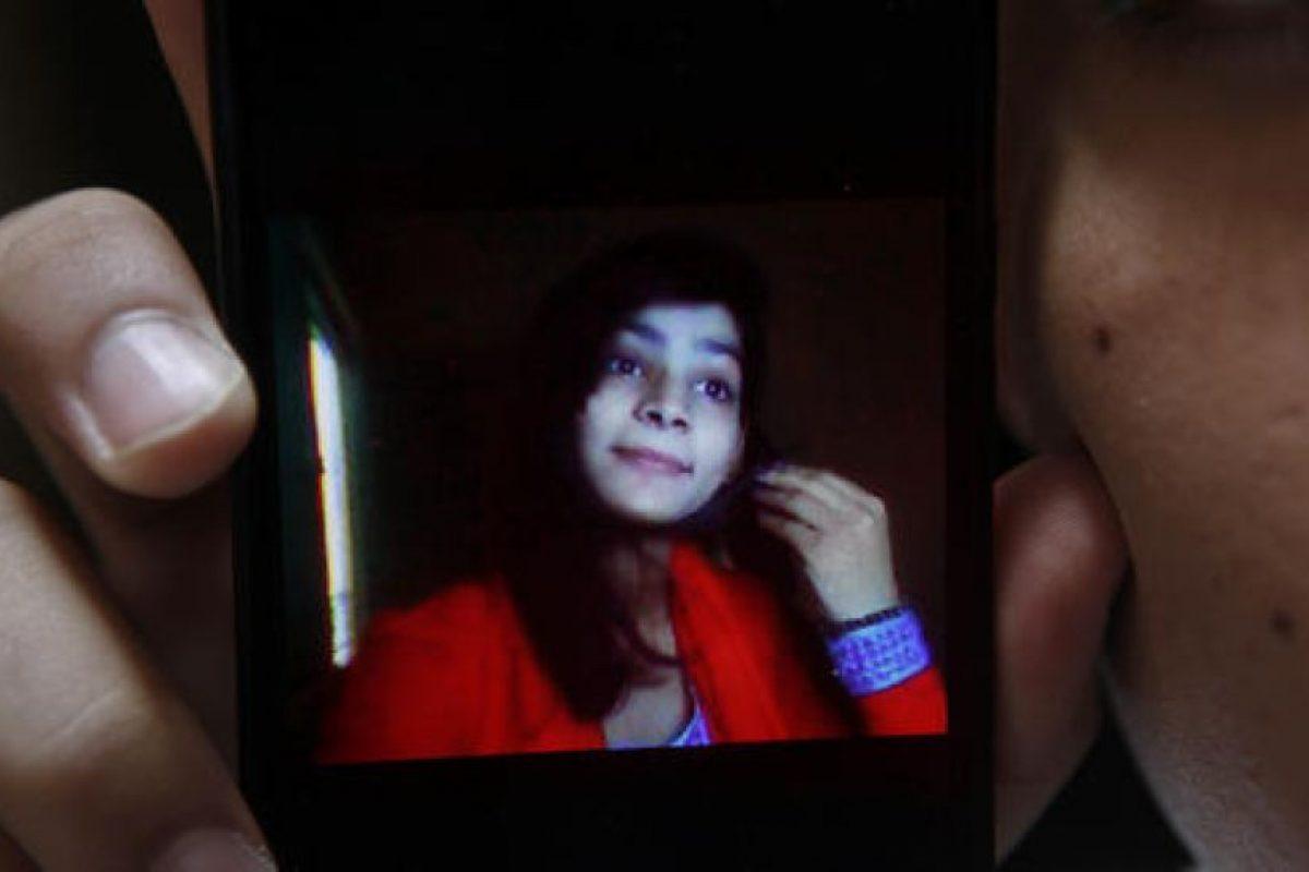 Zeenat Bibi, de 16 años, fue quemada viva Foto:AP. Imagen Por: