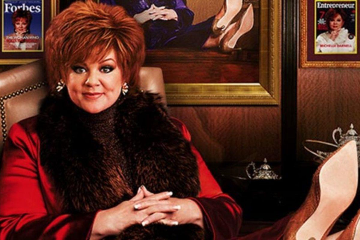 """Tiene dos estrenos: """"La Jefa"""", donde personifica a una millonaria en quiebra. Foto:vía Universal. Imagen Por:"""