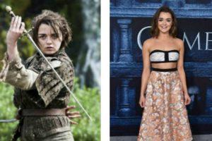 """Maisie Williams es """"Arya Stark"""" Foto:HBO/Getty Images. Imagen Por:"""