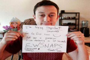 Joseph Gordon-Levitt Foto:Snapchat. Imagen Por: