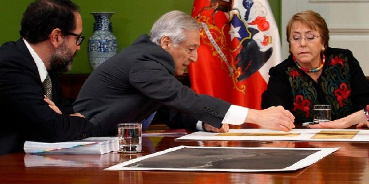 Bachelet se reúne con equipo a cargo de la demanda a Bolivia por el río Silala