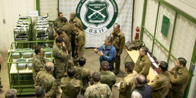 Carabineros inutilizó más de 1.500 armas de fuego incautadas durante procedimientos