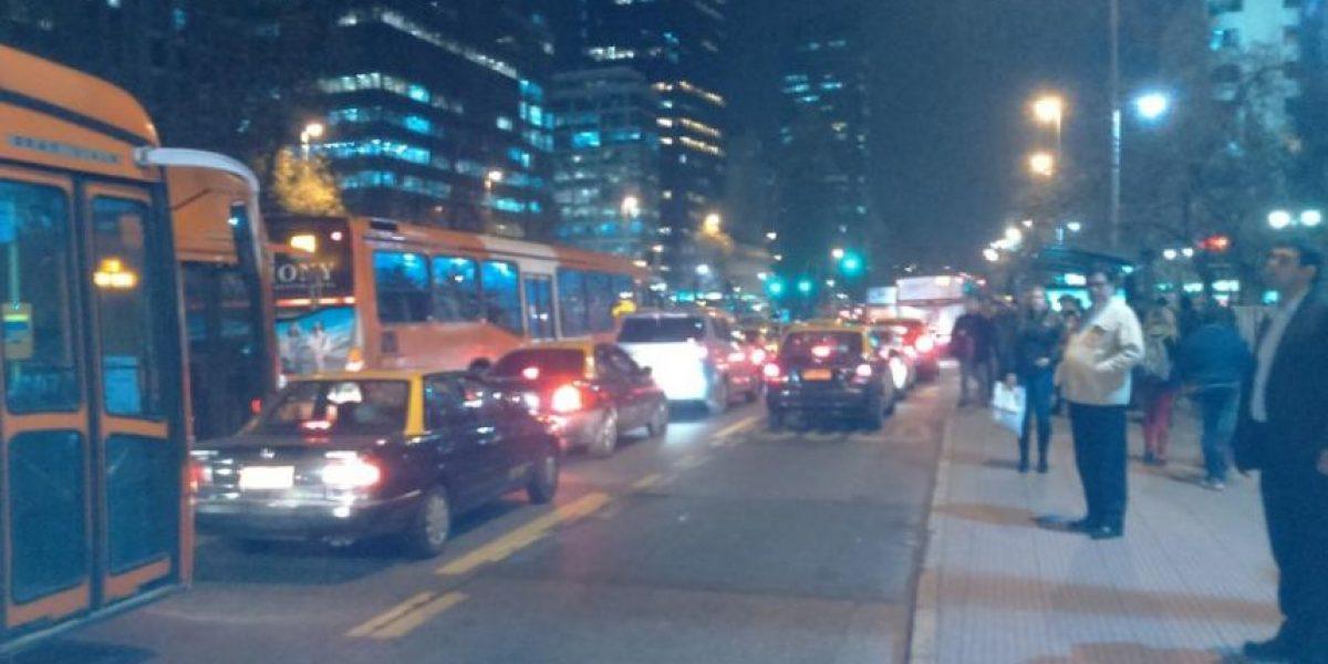 Santiaguinos reaccionan al caos vial y a los altos tiempos de regreso a sus hogares