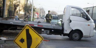 Carabineros detiene a uno de los asaltantes de camión en San Bernardo