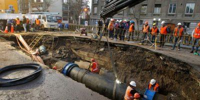 Serviu exige estudio a Aguas Andinas por impacto de filtración en pavimento