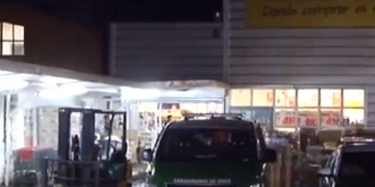 Osorno: guardia de seguridad muere tras recibir puñalada durante asalto
