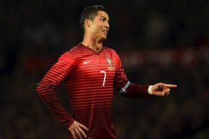 Cristiano Ronaldo es el futbolista más valioso de la Euro con un valor de 110 millones de euros.. Imagen Por:
