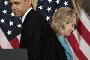 En 2008 Barack Obama y Hillary Clinton se enfrentaron para ocupar la presidencia de Estados Unidos. Foto:AP. Imagen Por: