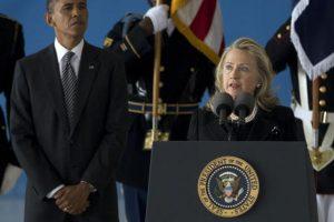 Luego de que Obama fuera reelegido en 2009, Clinton se volvió Secretaria de su administración. Foto:AP. Imagen Por:
