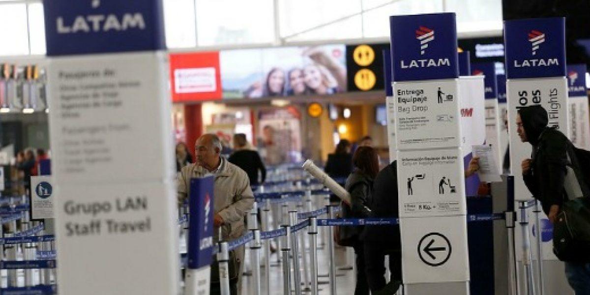 Latam alerta de posibles inconvenientes en vuelos por paro en Argentina