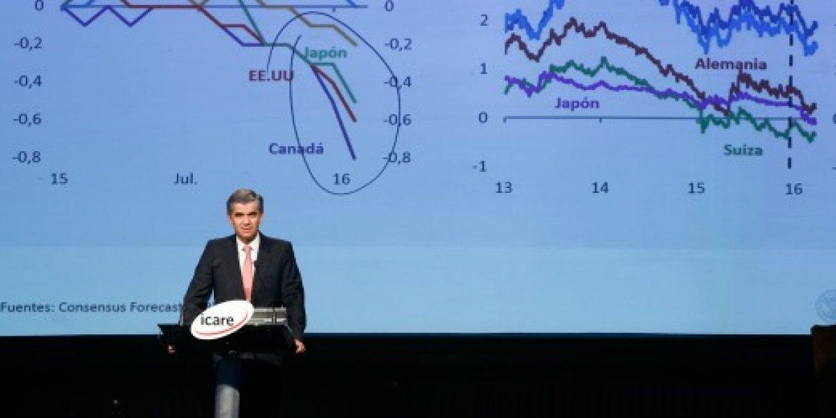 Encuesta de Banco Central mantiene crecimiento de Chile en 1,7% para 2016