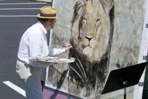 Se realizaron pinturas del león Foto:Getty Images. Imagen Por: