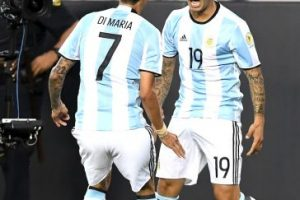 Argentina venció en su primer partido a Chile Foto:Getty Images. Imagen Por: