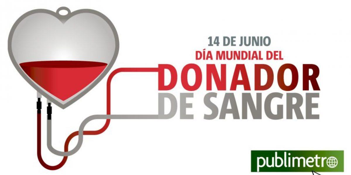 Infografía: Día Mundial del Donador de Sangre