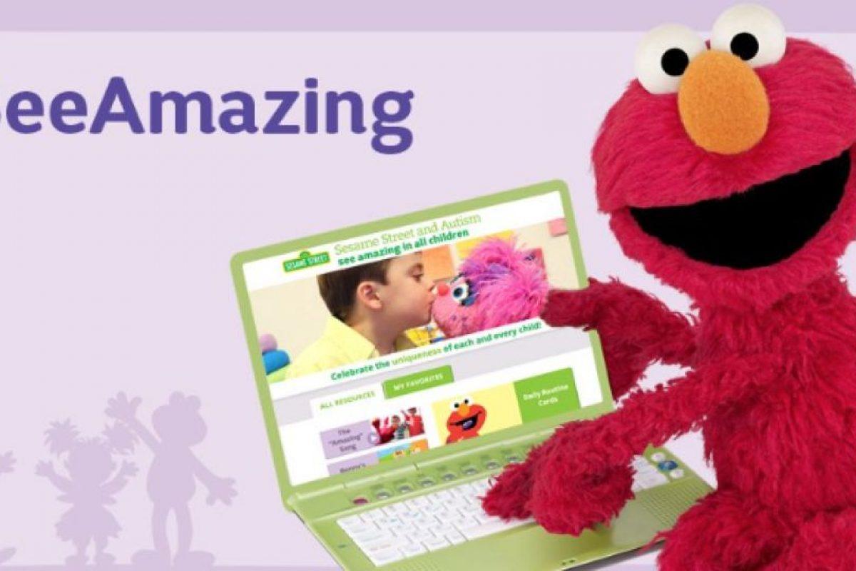 """""""Julia"""" es parte de """"Plaza Sésamo y el Autismo: Mira lo maravilloso en todos los niños"""" que se desarrolla en una aplicación que contiene elementos visuales. Foto:vía Facebook/SesameStreet. Imagen Por:"""