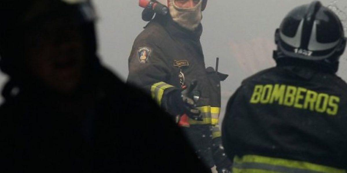 Incendio se registró esta mañana en cerro La Pólvora de Concepción