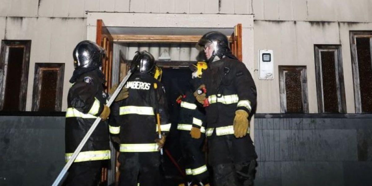 Aplican ley antiterrorista a 4 acusados de quemar templo evangélico en Chile